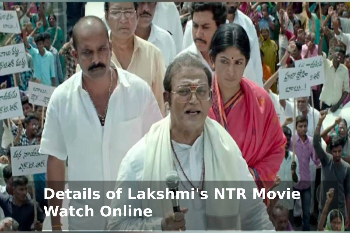 Lakshmi's NTR Movie Watch Online Movierulz